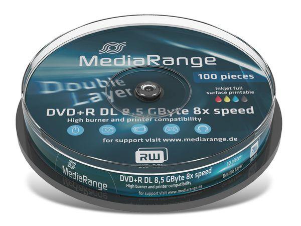 DVD+R Spindel MediaRange (DoubleLayer)