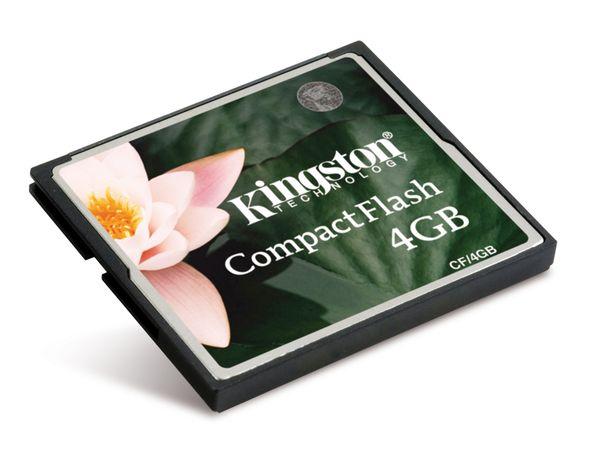 CF Card, 4 GB, KINGSTON CF/4GB - Produktbild 1