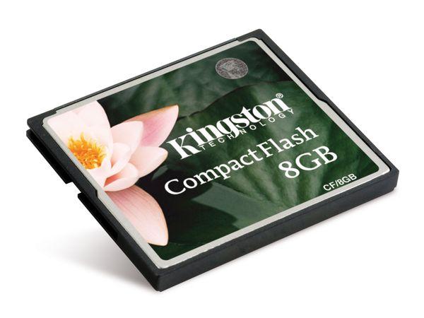 CF Card, 8 GB, KINGSTON CF/8GB - Produktbild 1