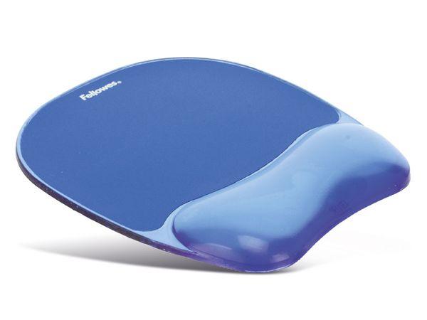 Maus-Pad mit Gel-Auflage, FELLOWES CrystalsGel - Produktbild 1