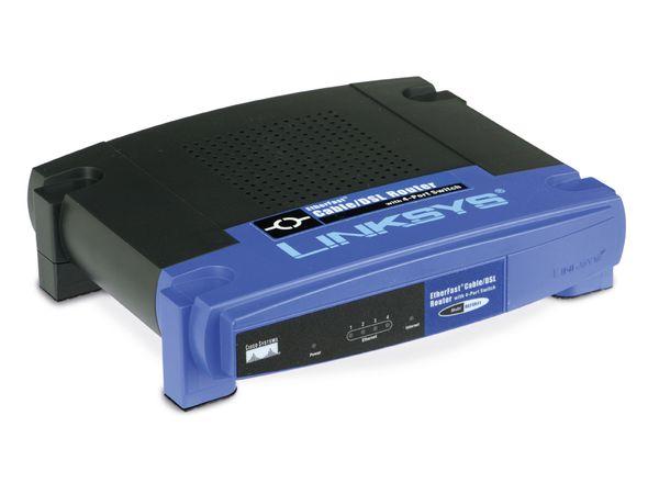 Kabel-/DSL-Router LINKSYS BEFSR41-DE - Produktbild 1