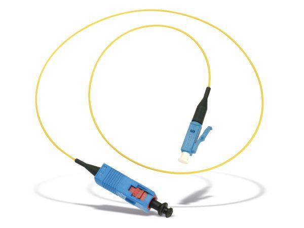 Lichtleiter-Kabel SUHNER, SC/LC, 0,6 m