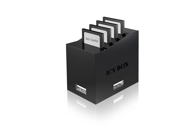 USB 2.0 Multi-Cardreader, ICYBOX IB-870 - Produktbild 1