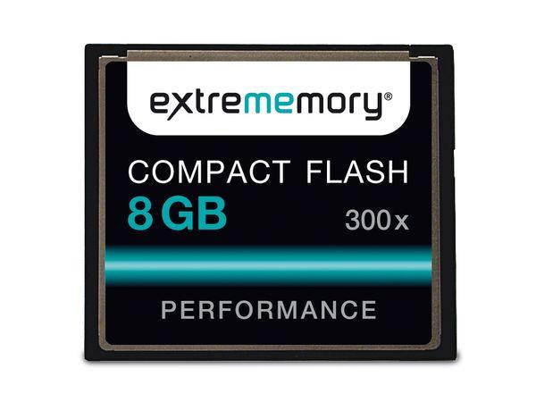 CF Card, 8 GB, EXTREMMEMORY, 300x - Produktbild 1