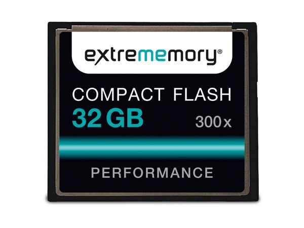 CF Card, 32 GB, EXTREMMEMORY, 300x - Produktbild 1