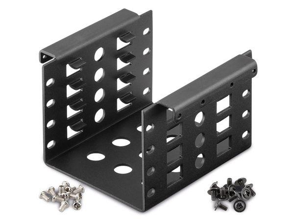 """Einbaurahmen für 4x 2,5"""" Festplatten"""