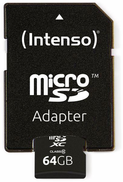 MicroSDXC Card INTENSO 3413490, 64 GB - Produktbild 4