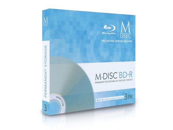 BD-R MILLENNIATA M-DISC MDBD003, 3 Discs