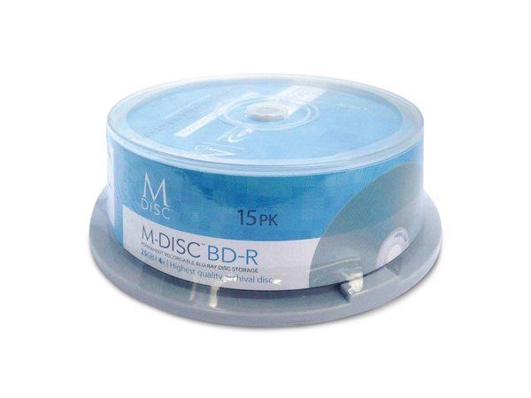 BD-R MILLENNIATA M-DISC MDBD015, 15 Discs