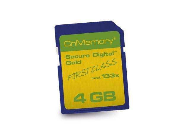SD Card CnMemory 133x, 4 GB