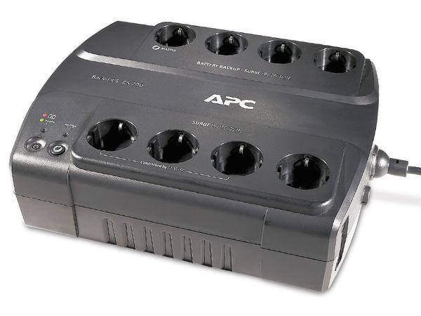 USV APC BE700G-GR, 700VA, 8 Steckdosen
