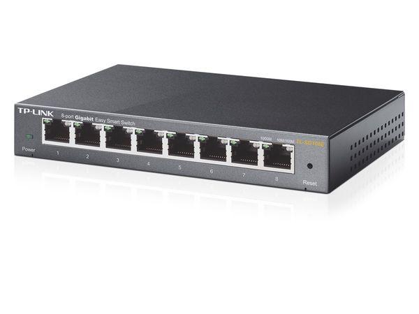 Gigabit Netzwerk-Switch TP-LINK TL-SG108, 8-Port