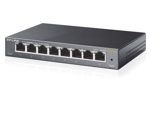 Gigabit Netzwerk-Switch TP-LINK TL-SG108E, 8-Port - Produktbild 1