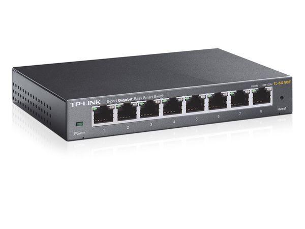 Gigabit Netzwerk-Switch TP-LINK TL-SG108E, 8-Port - Produktbild 2