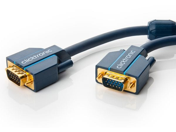 CLICKTRONIC Casual VGA-Kabel, 10 m - Produktbild 1