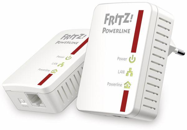 Powerline Adapter-Set AVM FRITZ!Powerline 510E, 500 Mbps - Produktbild 1