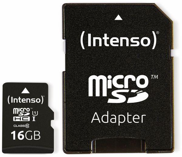 MicroSDHC Card INTENSO 3423470, UHS-I, 16 GB - Produktbild 3