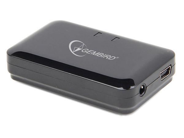 Audio Bluetooth-Empfänger GEMBIRD BTR-002, integrierter Akku - Produktbild 1