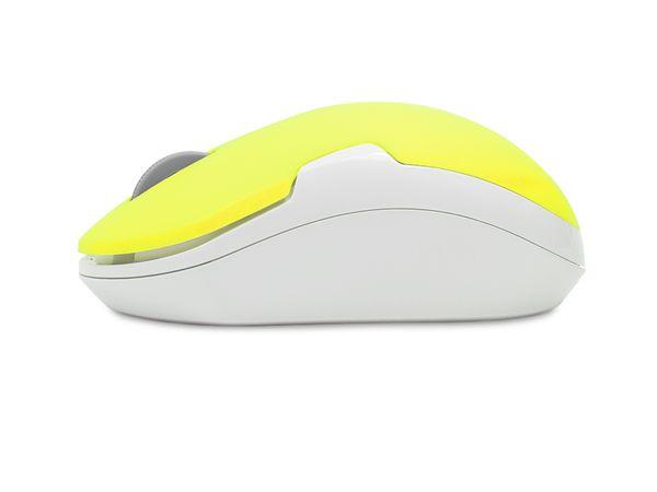Optical-Funkmaus LOGILINK ID0122, neon-gelb - Produktbild 2