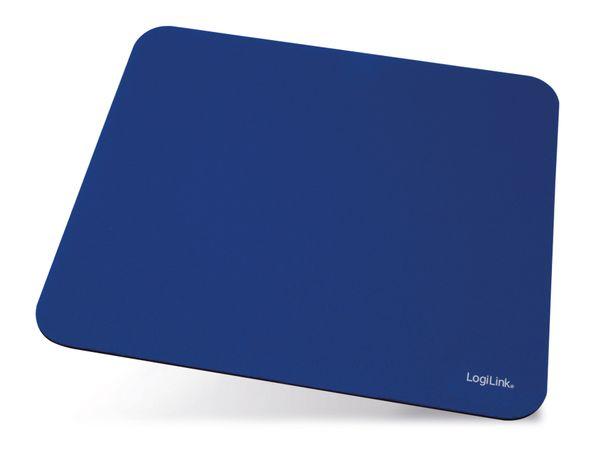 Maus-Pad LOGILINK ID0118, 230x205 mm, blau
