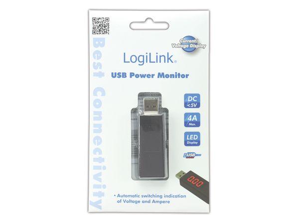 USB-Leistungsmessgerät, 1x USB, LOGILINK PA0067 - Produktbild 3