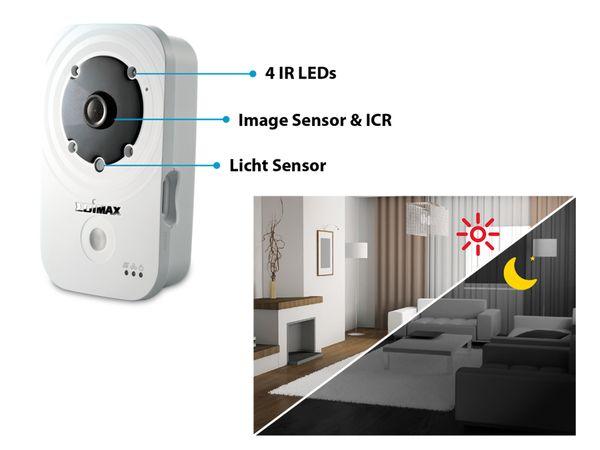 Netzwerk-Farbkamera EDIMAX IC-3140W, WLAN, HD 720p - Produktbild 4