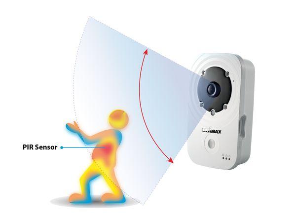 Netzwerk-Farbkamera EDIMAX IC-3140W, WLAN, HD 720p - Produktbild 6