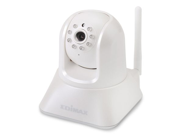 Netzwerk-Farbkamera EDIMAX IC-7001W, WLAN, Pan/Tilt - Produktbild 1