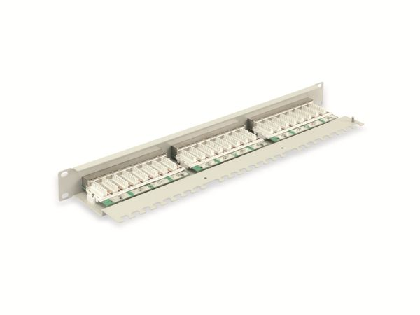 "CAT.5e Patchpanel RED4POWER R4-N116S, 24-fach, 19"", schwarz - Produktbild 3"