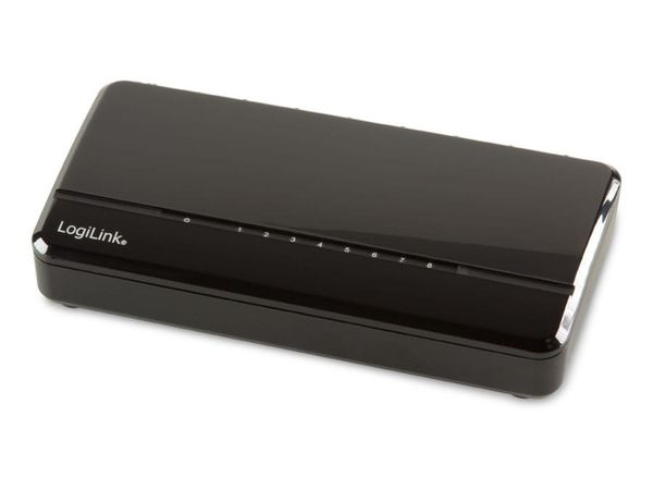 Netzwerk-Switch LOGILINK NS0104, Fast-Ethernet, 8-port