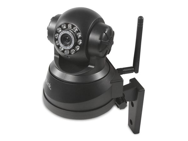 IP-Kamera LOGILINK WC0030A, Pan/Tilt, WLAN, schwarz - Produktbild 3