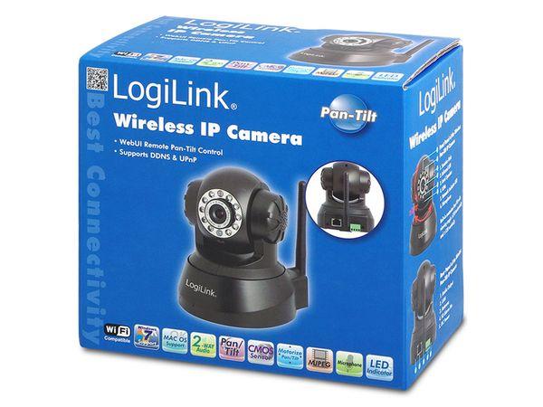 IP-Kamera LOGILINK WC0030A, Pan/Tilt, WLAN, schwarz - Produktbild 6