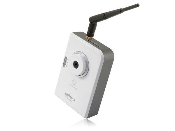 Netzwerk-Farbkamera EDIMAX IC-3100W, LAN/WLAN - Produktbild 1