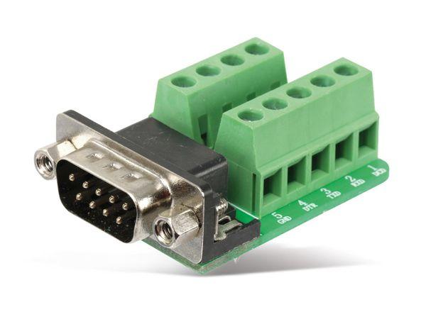 Sub-D Adapter, 9-polig - Produktbild 1