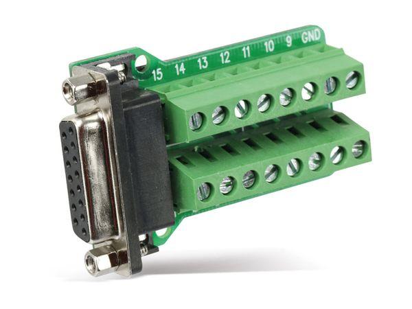 Sub-D Adapter, 15-polig (2-reihig) - Produktbild 2
