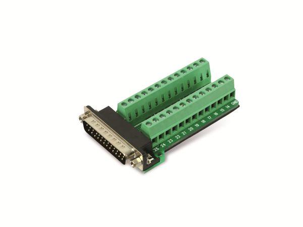 Sub-D Adapter, 25-polig