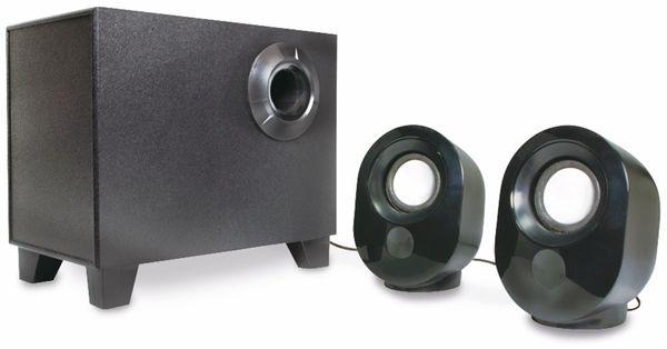 2.1 Stereo-Lautsprecher LOGILINK SP0045, schwarz - Produktbild 1