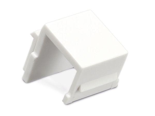 Abdeckung Red4Power KM-AU-W, weiß, 4 Stück - Produktbild 1