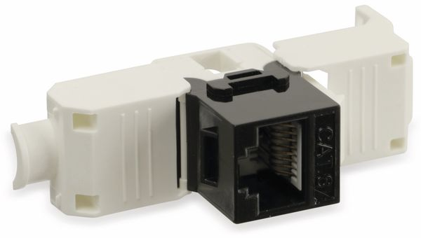 Einbau-Modul Red4Power KM-C6U-S, CAT.6, schwarz - Produktbild 4