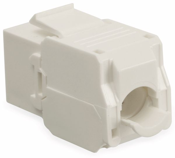Einbau-Modul Red4Power KM-C6U-W, CAT.6, weiß - Produktbild 2