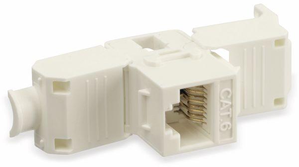 Einbau-Modul Red4Power KM-C6U-W, CAT.6, weiß - Produktbild 4