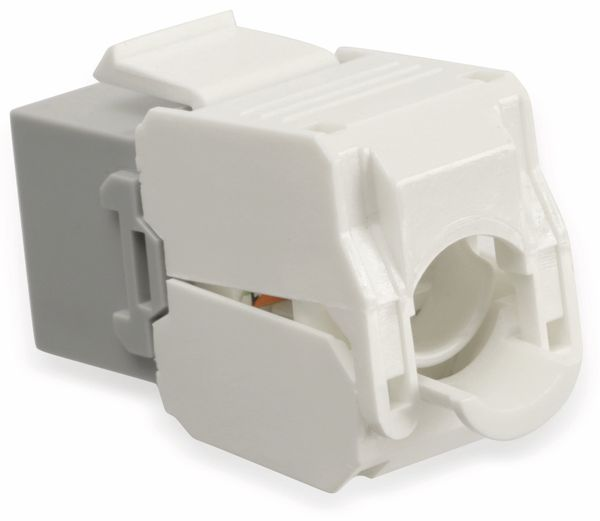 Einbau-Modul Red4Power KM-C6U-G, CAT.6, grau - Produktbild 2