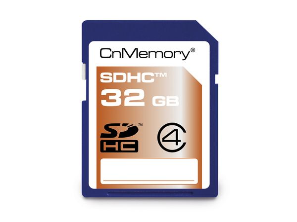 SDHC Card CnMemory, 32 GB, Class 4