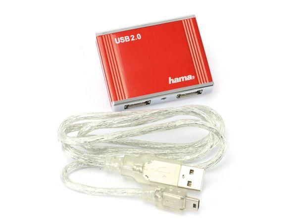 USB 2.0-Hub HAMA 78496, 4-port - Produktbild 1