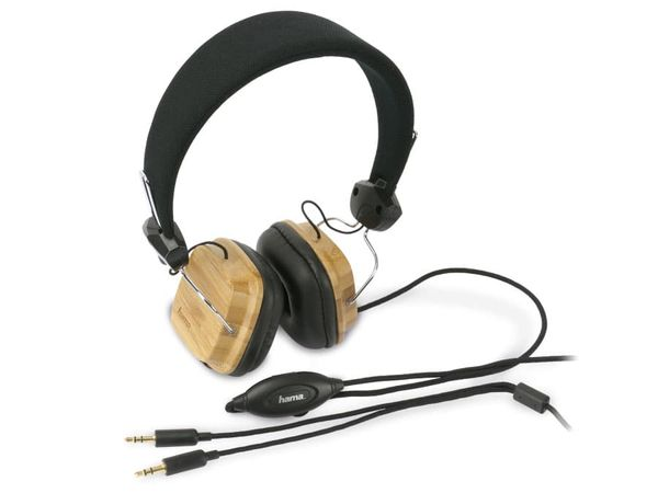 Headset HAMA 51668 BAMBOO - Produktbild 1