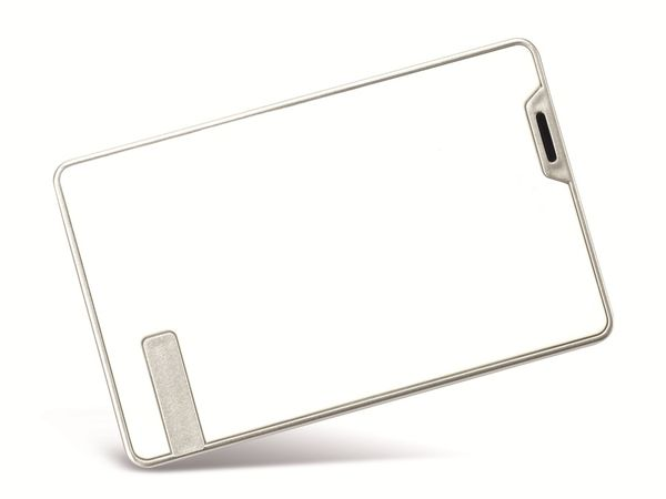 """6,35 cm (2,5"""") Festplatten-Gehäuse, USB 2.0 zu SATA, weiß - Produktbild 1"""