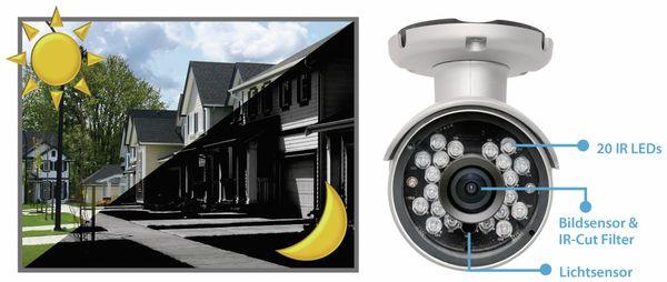HD-Netzwerk-Farbkamera EDIMAX IC-9110W, 720p, WLAN - Produktbild 4