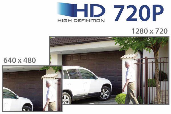HD-Netzwerk-Farbkamera EDIMAX IC-9110W, 720p, WLAN - Produktbild 10