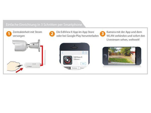 HD-Netzwerk-Farbkamera EDIMAX IC-9110W, 720p, WLAN - Produktbild 14