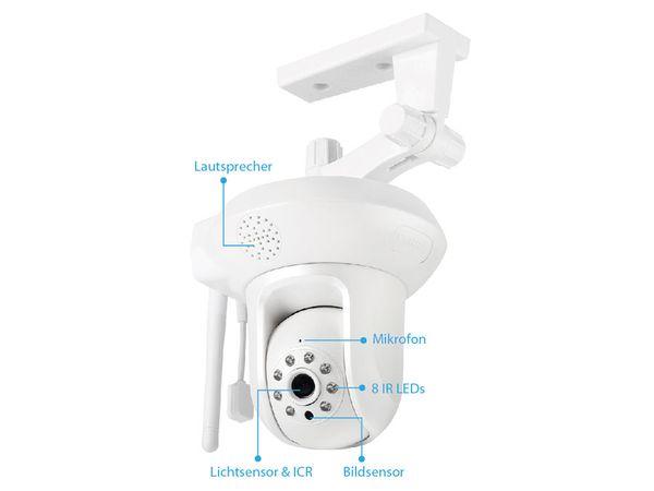 HD-Netzwerk-Farbkamera EDIMAX IC-7113W, 720p, WLAN, Pan/Tilt - Produktbild 3